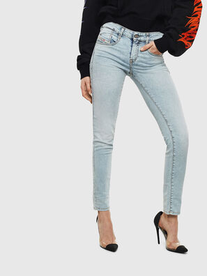 D-Ollies JoggJeans 069LL, Bleu Clair - Jeans