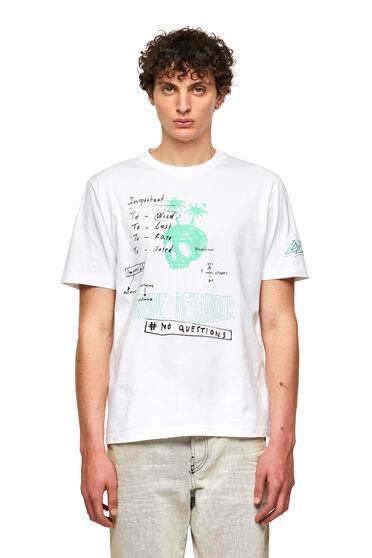 T-shirt avec empiècement sur la manche
