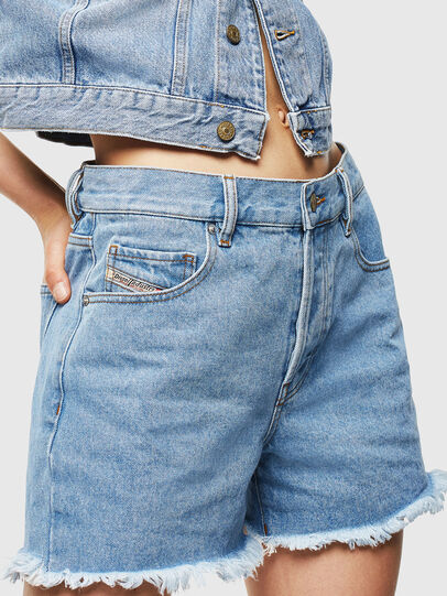 Diesel - DE-LOWY, Bleu Clair - Shorts - Image 1