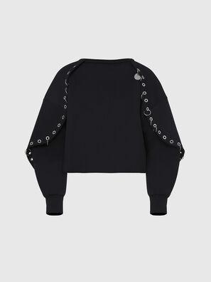 F-OLL, Noir - Pull Cotton