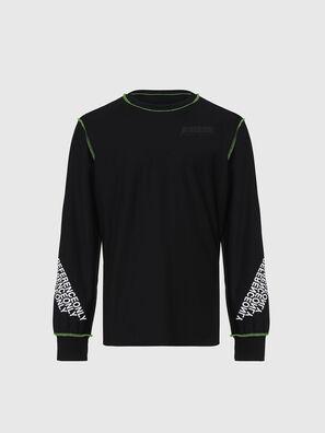 T-JUSEAM-LS, Noir - T-Shirts