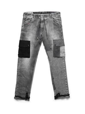 D-ARGO-JOGG, Noir/Gris foncé - Pantalons