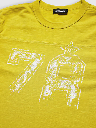 Diesel - TDIEGOCUTA, Jaune - T-shirts et Hauts - Image 3