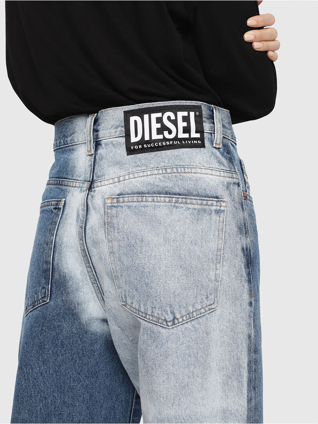 Diesel - Widee 0077V, Bleu moyen - Jeans - Image 5