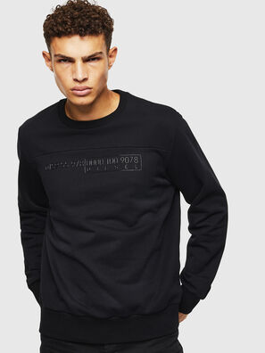 S-CORY, Noir - Pull Cotton