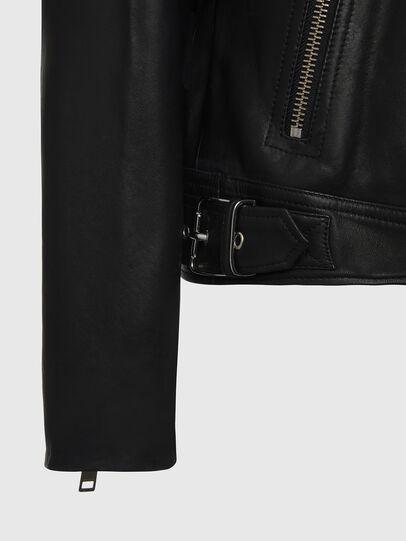 Diesel - L-CODY, Noir - Vestes de cuir - Image 5