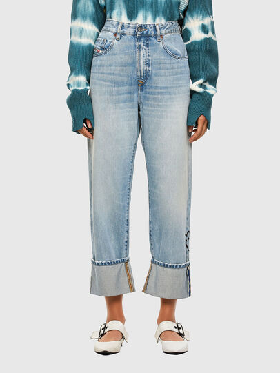 Diesel - D-Reggy 009GZ, Bleu Clair - Jeans - Image 1