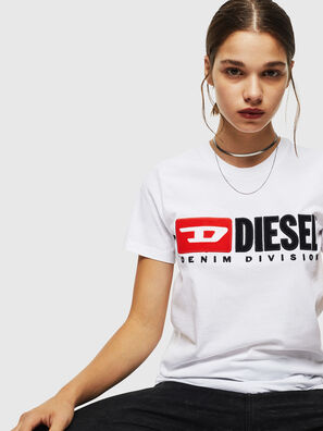 T-SILY-DIVISION, Blanc - T-Shirts