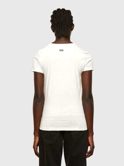 Diesel - T-SOAL-R1, Blanc - T-Shirts - Image 2