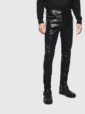D-Istort 0094S, Noir/Gris foncé - Jeans