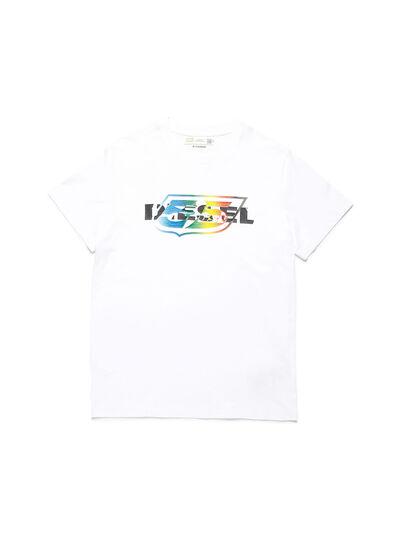 Diesel - D-55LOGO, Blanc - T-Shirts - Image 1