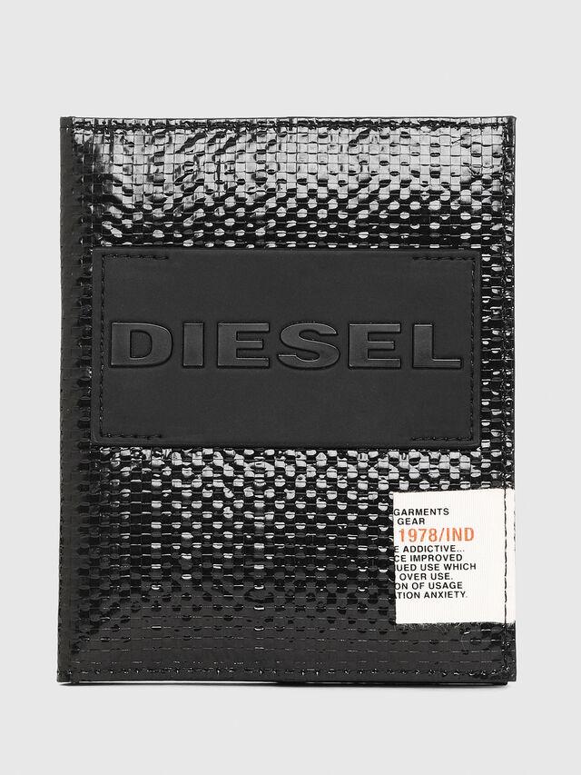 Diesel - PASSPORT, Noir/Jaune - Portefeuilles Continental - Image 1