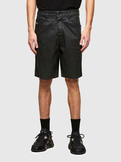 Diesel - D-WILLOH-X-SP JOGGJEANS, Noir - Shorts - Image 1