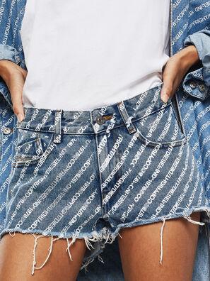 DE-RIFTY, Bleu moyen - Shorts