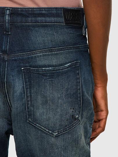 Diesel - Fayza JoggJeans® 09B50, Bleu Foncé - Jeans - Image 4