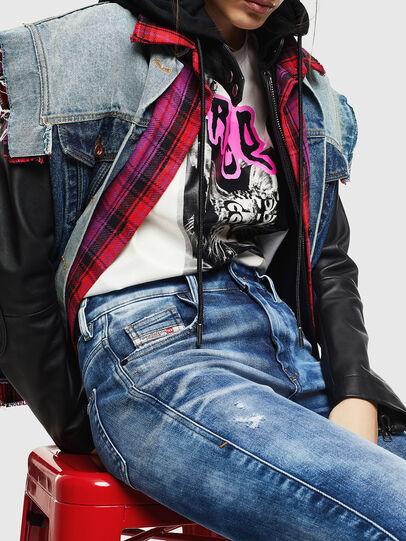 Diesel - Slandy High 0096J, Bleu moyen - Jeans - Image 3
