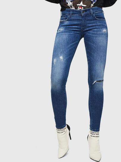Diesel - Slandy Low 089AI, Bleu moyen - Jeans - Image 1