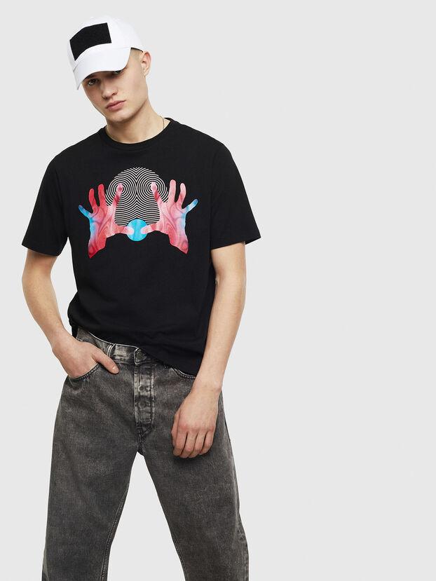 T-JUST-T26, Noir - T-Shirts