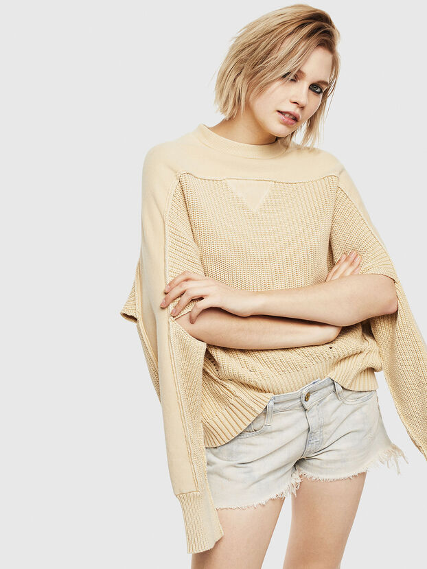 M-SUNNY, Beige - Pull Maille
