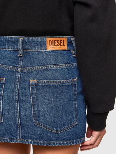 Diesel - DE-EISY, Bleu moyen - Jupes - Image 4