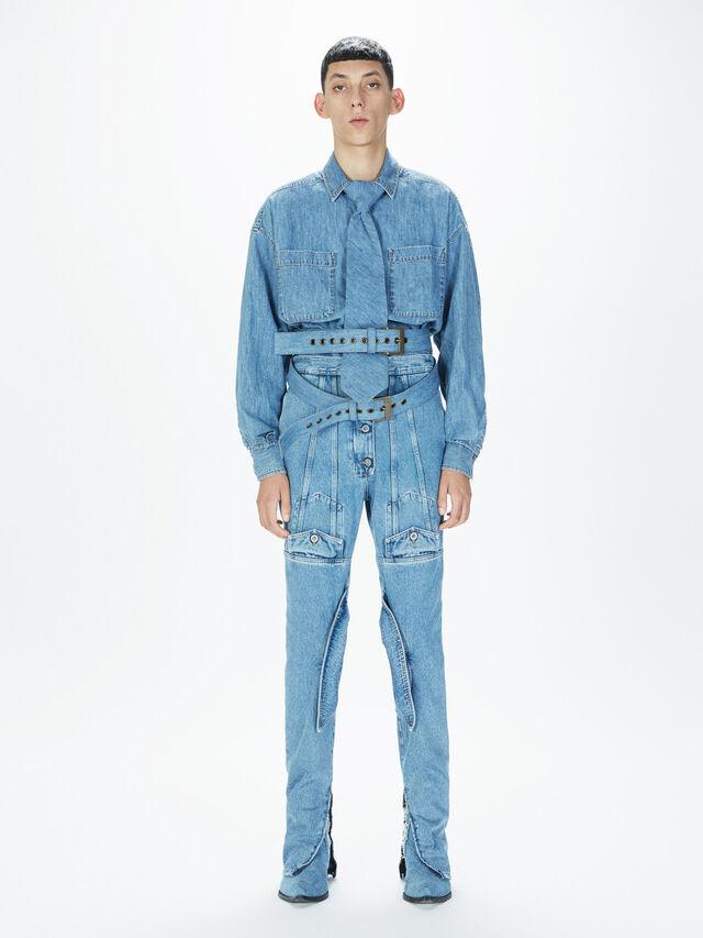 Diesel - SOJP01, Bleu Clair - Pantalons - Image 6