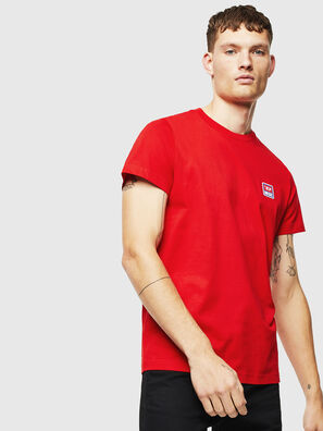 T-DIEGO-DIV, Rouge - T-Shirts