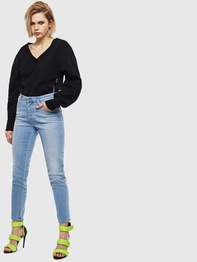Diesel - Babhila 0095D, Bleu Clair - Jeans - Image 5