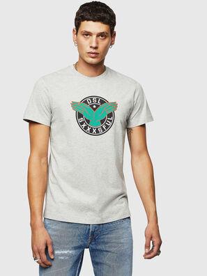 T-DIEGO-B5, Gris Clair - T-Shirts
