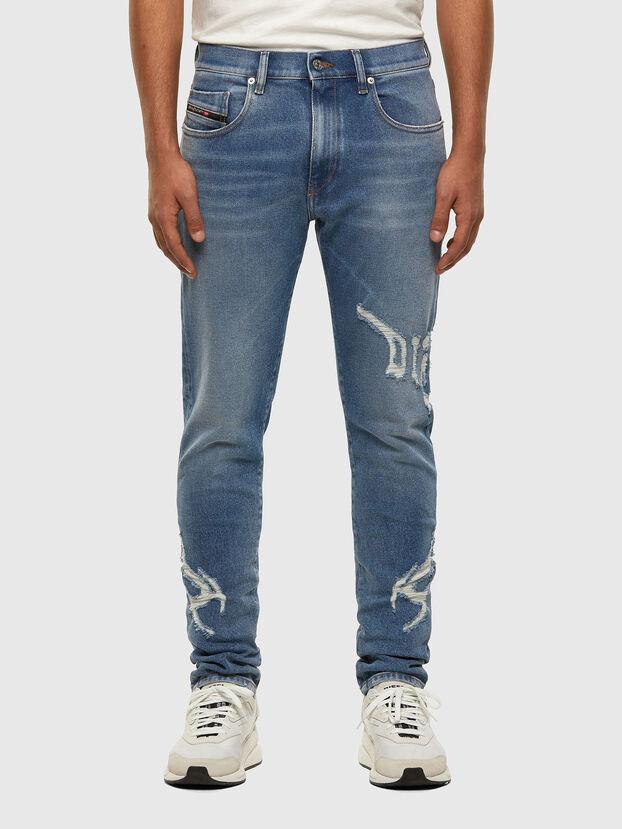 D-Strukt 009DW, Bleu Clair - Jeans
