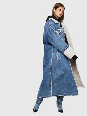 DE-VALY, Bleu moyen - Vestes d'hiver