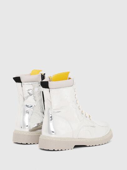 Diesel - HB LACE UP 04 YO, Gris argenté - Footwear - Image 3