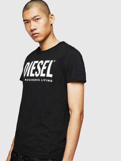 Diesel - T-DIEGO-LOGO, Noir - T-Shirts - Image 1
