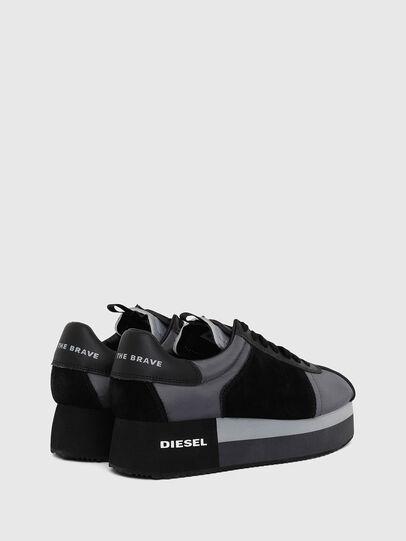 Diesel - S-PYAVE WEDGE, Bleu/Noir - Baskets - Image 3