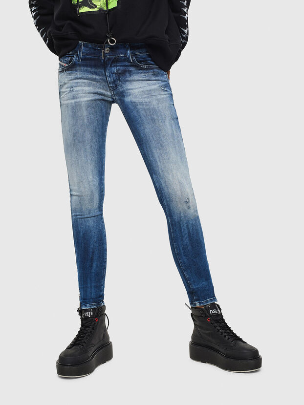 Slandy Low 0095C, Bleu moyen - Jeans