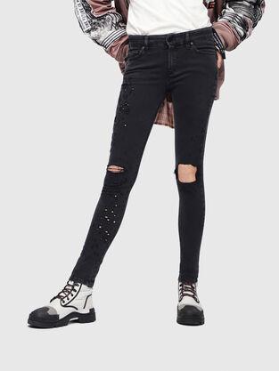 Slandy 085AW, Noir/Gris foncé - Jeans