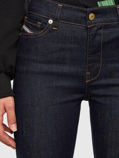Diesel - D-Roisin 0098L, Bleu Foncé - Jeans - Image 3