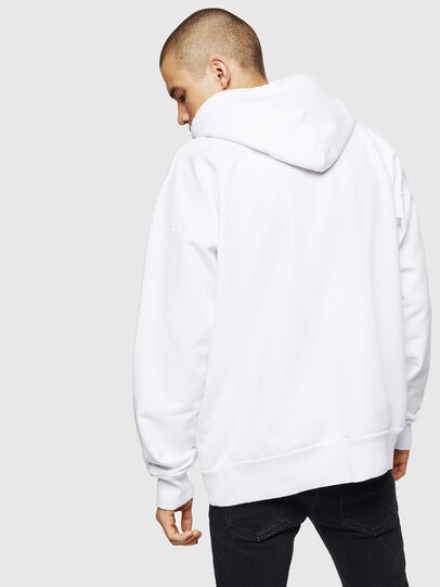 Diesel - S-ALBY, Blanc - Pull Cotton - Image 2