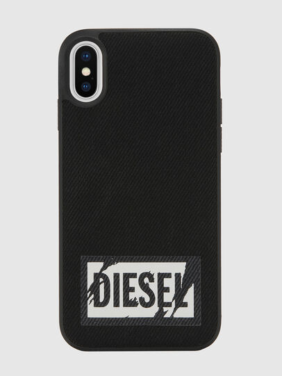 Diesel - BLACK DENIM IPHONE X CASE,  - Coques - Image 2