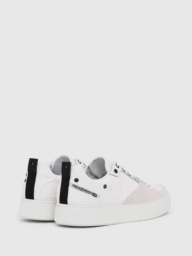 Diesel - S-DANNY LC, Blanc - Baskets - Image 3