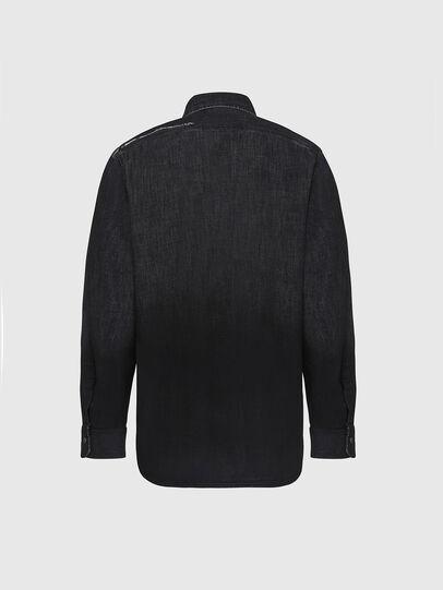 Diesel - D-NESKY, Noir - Chemises en Denim - Image 2