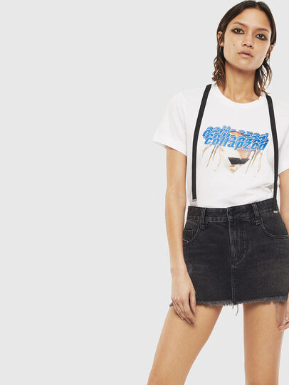 Diesel - T-SILY-S3, Blanc - T-Shirts - Image 4