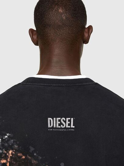 Diesel - S-MART-A92, Noir - Pull Cotton - Image 4