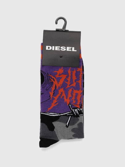 Diesel - SKM-RAY, Violet - Chaussettes - Image 2