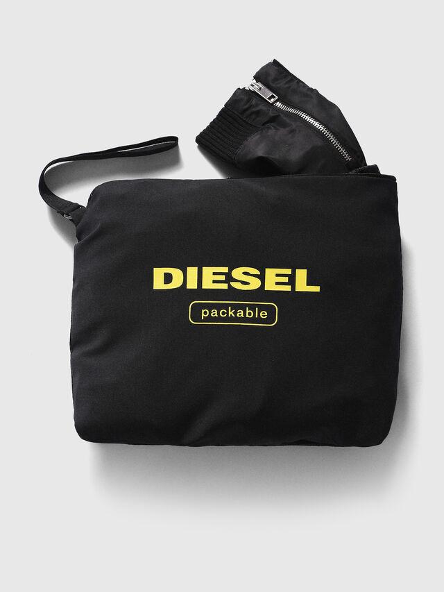 Diesel J-FOLLYER, Noir - Vestes - Image 3