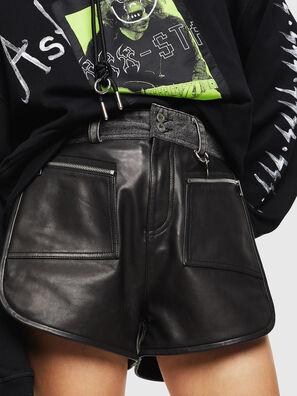 L-FARA, Noir - Shorts