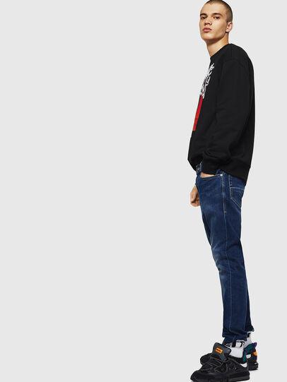 Diesel - Thommer 0870F, Bleu moyen - Jeans - Image 5