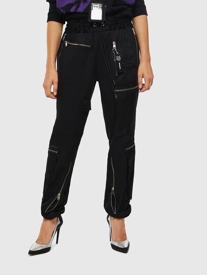 Diesel - P-LEX, Noir - Pantalons - Image 1