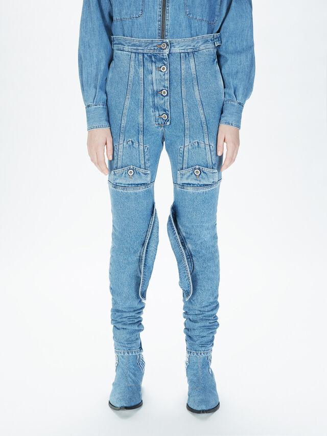 Diesel - SOJP01, Bleu Clair - Pantalons - Image 3