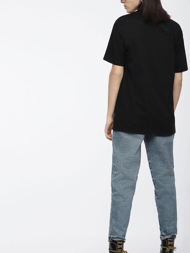 Diesel - T-JUST-XK-FL, Noir - T-Shirts - Image 2