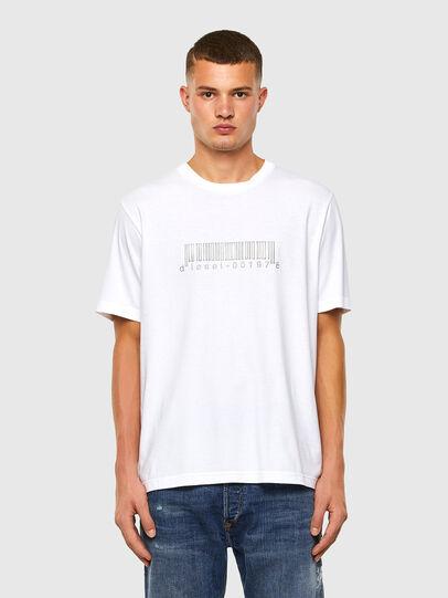 Diesel - T-JUST-SLITS-X85, Blanc - T-Shirts - Image 5